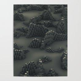 Dusty Pillars Poster