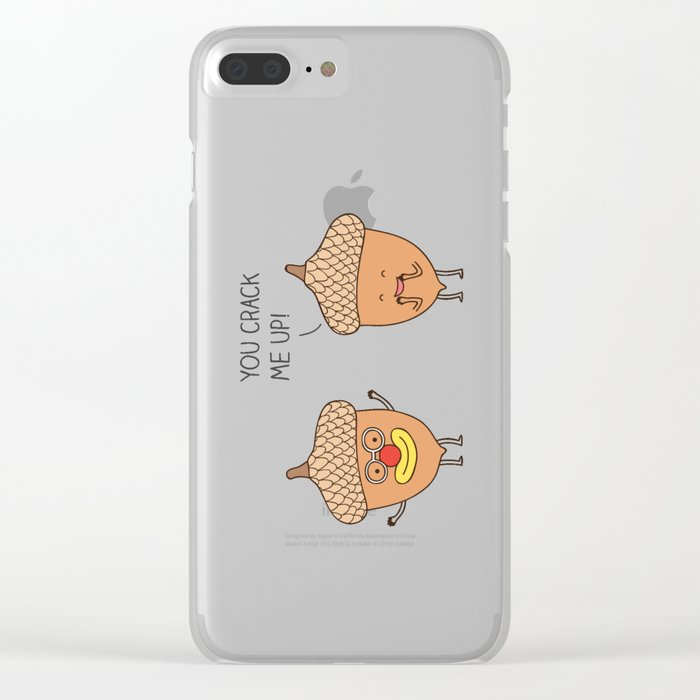 The nutcracker Clear iPhone Case