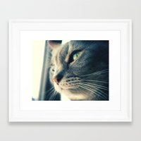 xena Framed Art Prints featuring Xena by Kylee Daniels