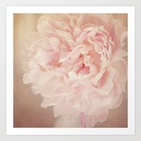 blush Art Prints featuring BLUSH by Jenny Althouse