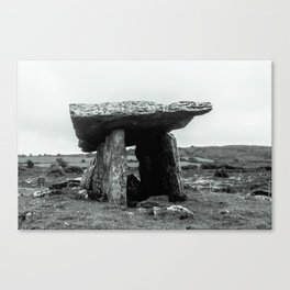 The Poulnabrone Dolmen - Ireland Canvas Print