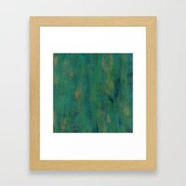 Emerald Sea Framed Art Print