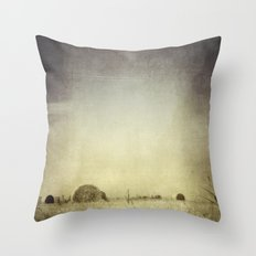 Let the Rain Come Down Throw Pillow
