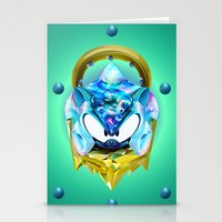 sonic Stationery Cards featuring Sonic  by Naje Anthony Hart