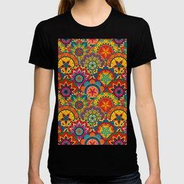 Funky Retro Pattern Mandalas T-shirt