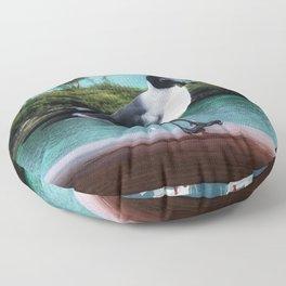 The Pigeon of Nassau Floor Pillow