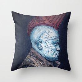 Yondu Throw Pillow