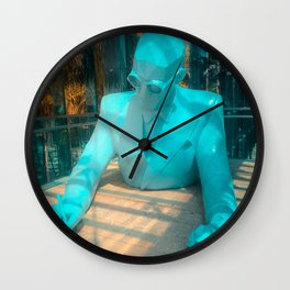 Le Corbusier by Xavier Veilhan Wall Clock
