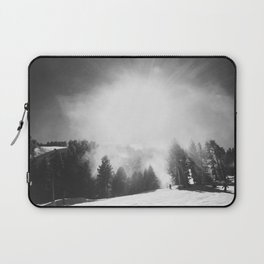 Blowing Snow Laptop Sleeve