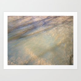 Light Dancing on Water Art Print