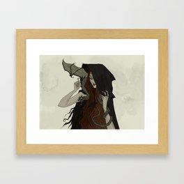 Little Helper Framed Art Print