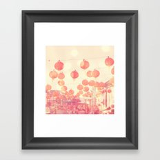 Chinatown. Los Angeles photograph Framed Art Print
