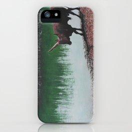 Road To Survival - Ankole Watusi Bull iPhone Case