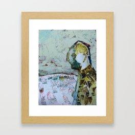 the world at large Framed Art Print