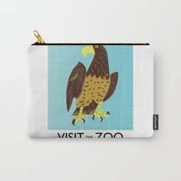 visit the Zoo Golden eagle Carry-All Pouch