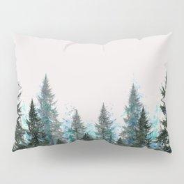 MOUNTAIN FOREST PINES LANDSCAPE  ART Pillow Sham