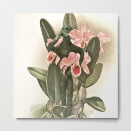 Botanical Boy Metal Print