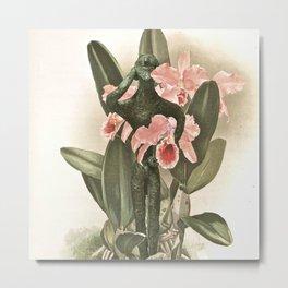 Botanical Boy Metal Print
