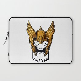 Whoa Viking Scary Laptop Sleeve