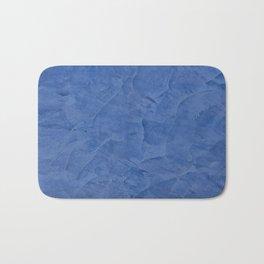 Light Blue Stucco Bath Mat