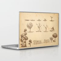 tree of life Laptop & iPad Skins featuring Tree Life by Mono Ahn