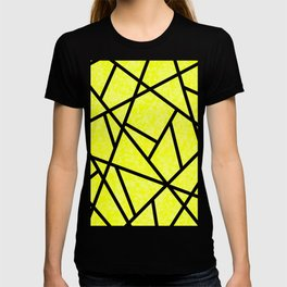 Yellow Abstract T-shirt