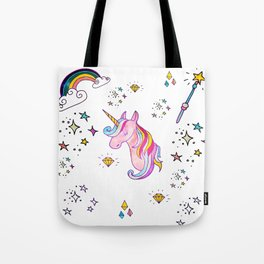 MAGIC UNICORN Tote Bag