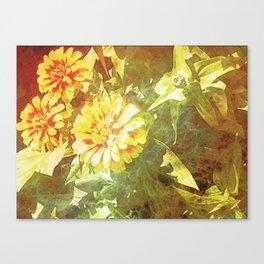 Vivid Marigold Canvas Print