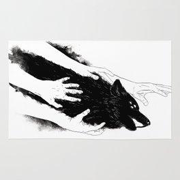 Wolves of Paris Rug
