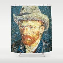 Vincent Van Gogh Self Portrait Shower Curtain