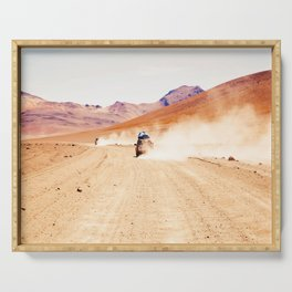 Road Racing Desert (Color) Serving Tray