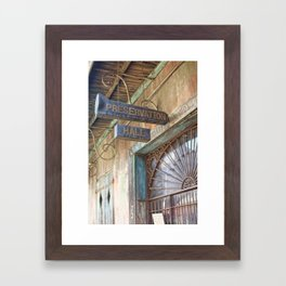 New Orleans Jazz Club Framed Art Print