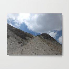 A Walk On The Mountain Metal Print