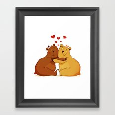 All my love is for you Framed Art Print