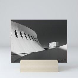 Le Havre | Oscar Niemeyer Mini Art Print