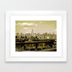 NYC Beauty Framed Art Print