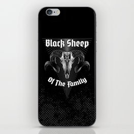 Black Sheep Of The Family iPhone Skin