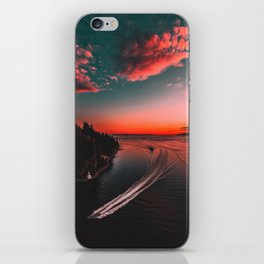 Canadian sunset #buyart #society6 iPhone Skin