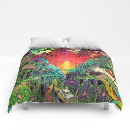 Eurydice in the Underworld (LSD) Comforters