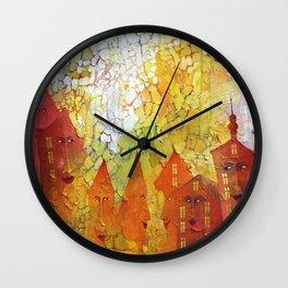 City of Lovelines Wall Clock