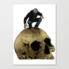 Leroy And The Giant's Giant Skull Canvas Print