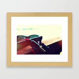 Music & Sun Framed Art Print