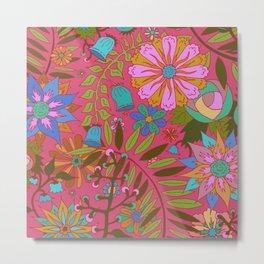 Fresh Flowers Metal Print