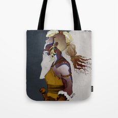 Wolf Warrior Tote Bag
