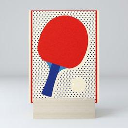 Ping Pong Dots Mini Art Print