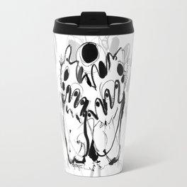 Worship - b&w Travel Mug