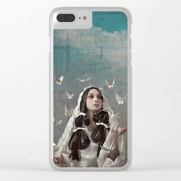 The Concrete Room Clear iPhone Case