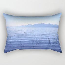Tahoe silence Rectangular Pillow