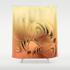 window curtain fractal design -119- Shower Curtain