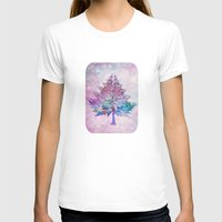 christmas tree T-shirts featuring Christmas Tree by Klara Acel
